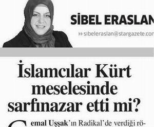 İslamcılar Kürt meselesinde sarfınazar etti mi?