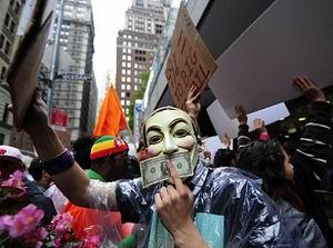 Wall Street İşgalinin 2. Ayında Onlarca Eylem