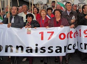 Cezayirliler, Paris Katliamı İçin Yürüdü