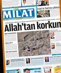 Milat Gazetesinin İlk Sayısı Çıktı!