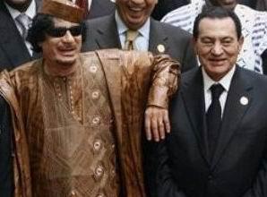 Mübarek, Kaddafi İçin Çok Ağlamış!