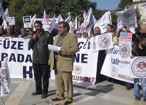 Malatya'da NATO Radar Üssü Protestosu