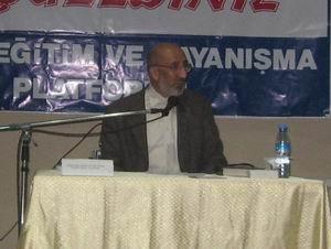 Eynesil'de Ortadoğu İntifadası Konferansı
