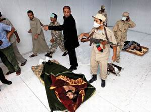 Kaddafi Gizlice Defnedildi