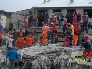 Deprem 600 Bin Kişiyi Etkiledi