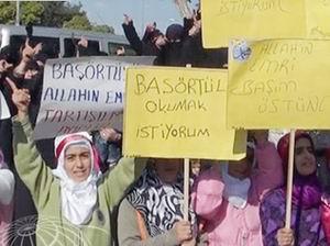Gaziantep'teki Eğitim Gaspı Protesto Edildi
