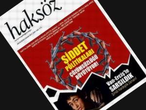 Haksöz Dergisi Kasım 2011 Sayısı