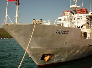 İsrail Savaş Gemileri Filoyu Durdurdu!
