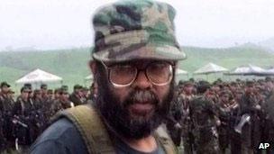 Kolombiyalı Gerilla Lideri Öldürüldü
