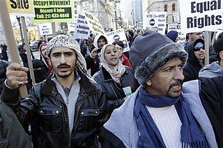 ABDde Müslümanlar CIA ve Polisi Protesto Etti