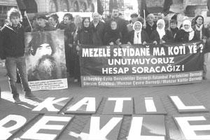 Dersimliler CHP'yi Protesto Etti