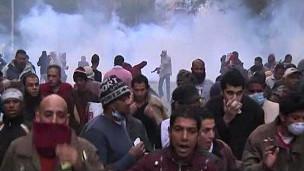 Mısırlılar Yeniden Tahrir Meydanında