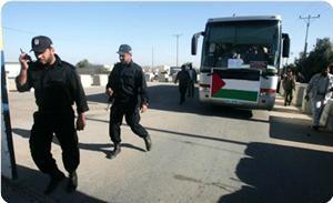 Özgürlük Baharı Kafilesi Gazzeye Ulaştı