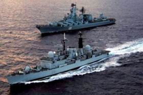 Rus Savaş Gemileri Suriye Sularında