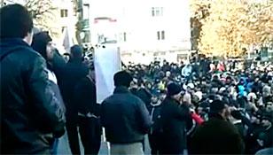 Dağıstanda İşgalciler Protesto Edildi