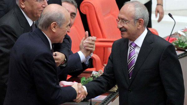 Kemalizm CHP ve MHP'yi İntihara Zorluyor