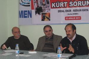 Van Depremi ve Kürt Sorunu Tartışıldı
