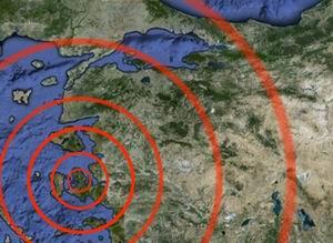 Ege Denizinde 5.1 Şiddetinde Deprem