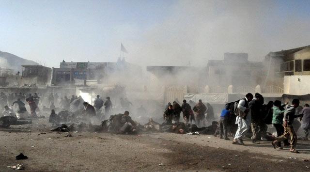 Afganistanda Yine Patlama: 19 Ölü