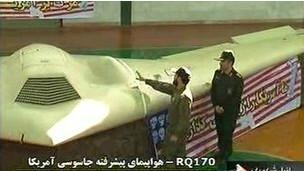 İran Televizyonunda Amerikan Casus Uçağı