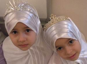 Kafkasyalı Yetim Kızlarımızdan Kuran Ziyafeti