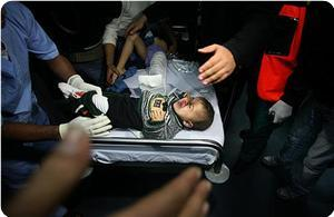 Siyonist İsrail Gazze'ye Havadan Saldırdı