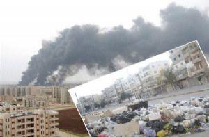 Humus'ta İnsanî Kriz Var