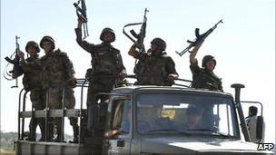 Suriyede Askerlere Vur Emri