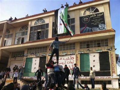 Suriyede Bugün 35 Gösterici Öldürüldü