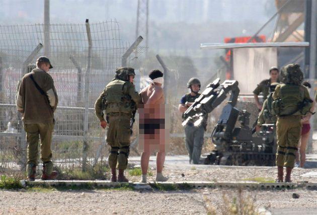 Böyle Olur İşgalci İsrailin Tutuklaması!