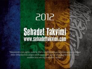 Şehadet Takvimi 2012 Çıktı