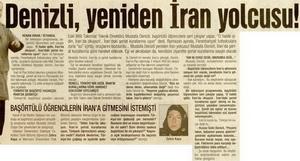 Denizli, Yeniden İran Yolcusu!
