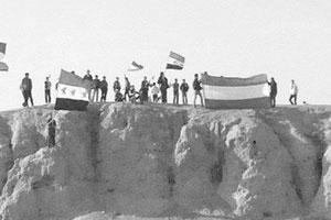 Kürtler Türkiye Sınırında Esad'ı Protesto Etti