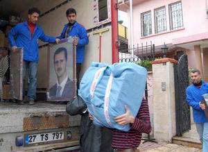 Suriyenin Antepteki Başkonsolosluğu Boşaltıldı