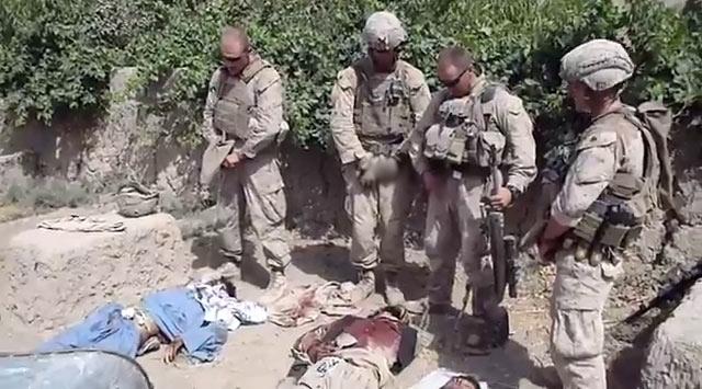 ABD Askerlerinden İğrenç ve Alçak Saldırı