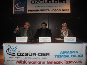 """""""Müslümanların Gelecek Tasavvuru"""" Paneli Yapıldı"""