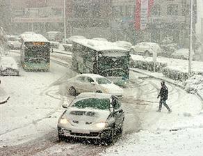 İstanbul'a Mevsimin İlk Karı Yağdı