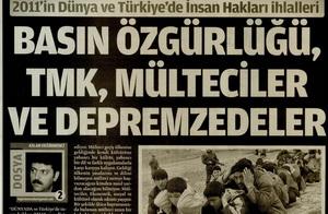 Basın Özgürlüğü TMK Mülteciler Ve Depremzedeler