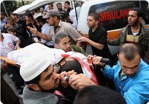 Gazzeye Saldırı: İki Filistinli Şehit Oldu