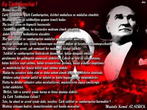 """""""Atatürk'ün Gençliğe Hitabesi"""" de Kaldırılmalı"""