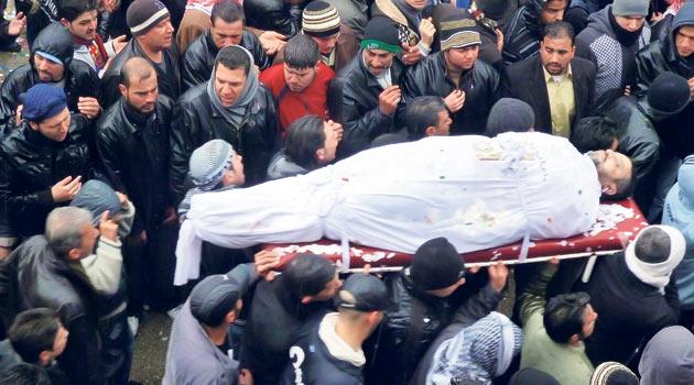 Suriyede Ölü Sayısı 7 Bini Geçti