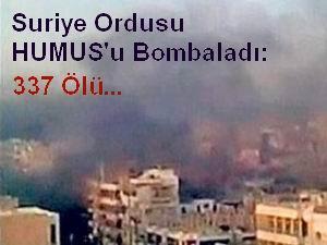 Humusta Katliam: 337 Ölü, 1300 Yaralı (Video)