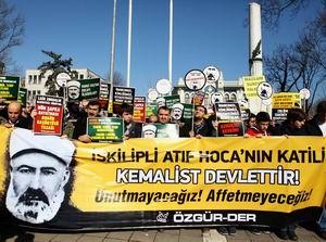 Şapka Zulmü Kurbanları ve İskilipli Atıf Hoca Fatih'te Anıldı!