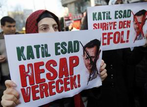Humus Katliamı İstanbul'da Protesto Edildi