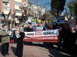 Akhisar'da Suriye Direnişine Destek Eylemi