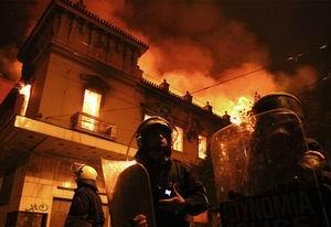 Atina Ateşe Verildi, Mecliste Deprem