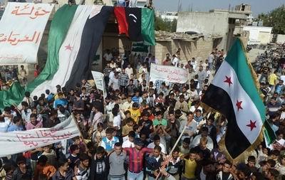 Filistinlilerden Suriye Halkına Destek