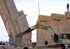 Libyada 17 Şubat Hazırlığı ve Yıkılan Anıt