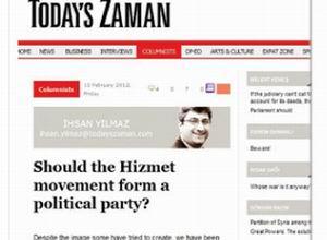 Today's Zaman Gazetesinde İlginç Bir Analiz