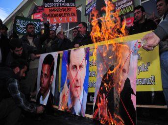 Van'da Suriye Direnişine Destek Eylemi